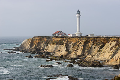 Point Arena Lighthouse, Point Arena, Mendocino, California, USA