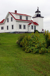 Fort Point Light Built in 1857 Located on the Penobscot River, Stockton Springs, Maine