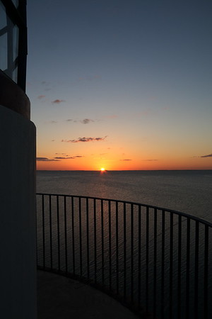 Sunset at Boca Chita Light