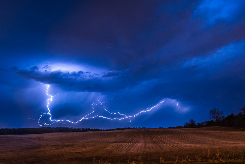 Lightning Photography, Minnesota, Lightning Trigger Photo, Thunderstorm