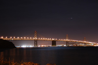 Lights out on the Bay Bridge  © 2007 Brian Neal