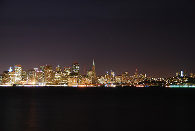 San Francisco, from Treasure Island  © 2007 Brian Neal