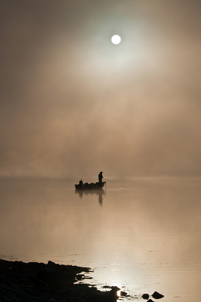 Fisherman In the Mist