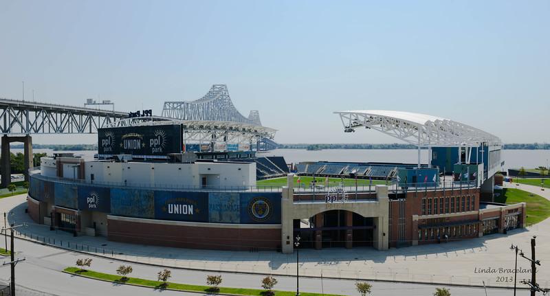 PPL Park Soccer Stadium, Chester, PA