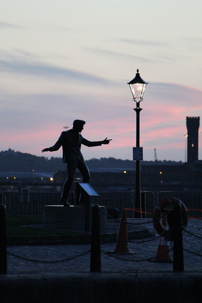 Billy Fury Statue, Liverpool Albert Dock