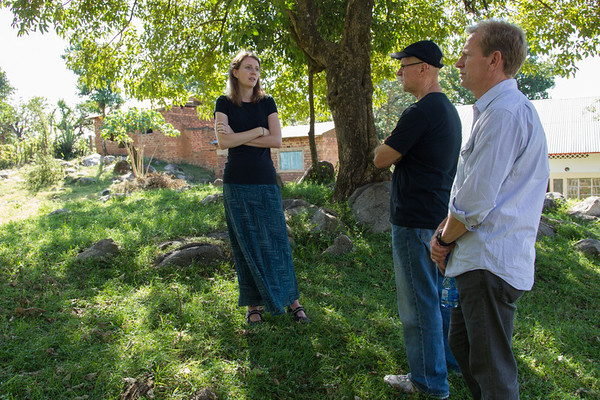 The place where it all started. Juli tells the story of caring for the dying under a tree between a medical clinic and a church.