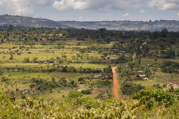 The Kipkaren countryside on our way to four home visits of Living Room clients.