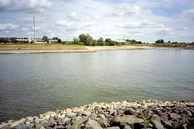 Afvoerverdeling 1/3 van rijnwater naar Pannerdens kanaal