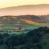 New Years Sunrise Panorama at Wilson Hill