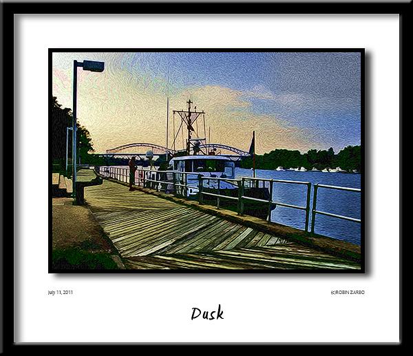 Connecticut River<br /> Harbor Park Boardwalk<br /> Middletown, CT