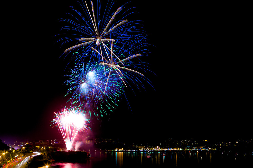 FIREWORKS OVER TORQUAY