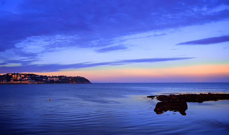 SUNSET OVER TORQUAY