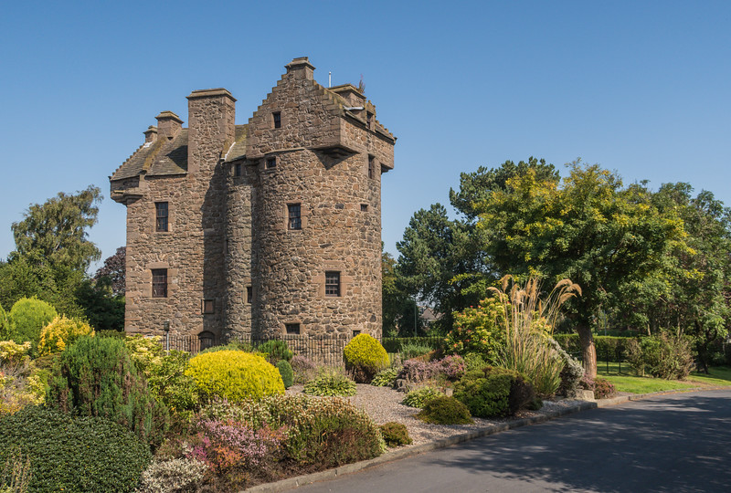 Claypotts Castle - Nr Dundee - Scotland (August 2019)