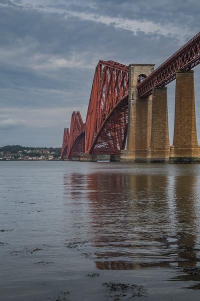 Forth Rail Bridge - South Queensferry - West Lothian - Scotland (August 2019)