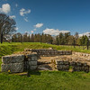 Hadrian's Wall - Chester Roman Fort - Northumberland (April 2018)