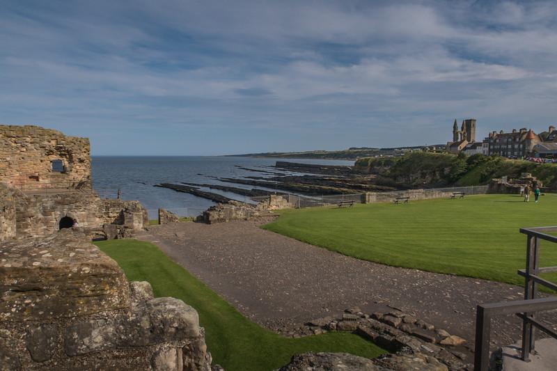 St Andrews Castle - St Andrews - Fife - Scotland (August 2019)