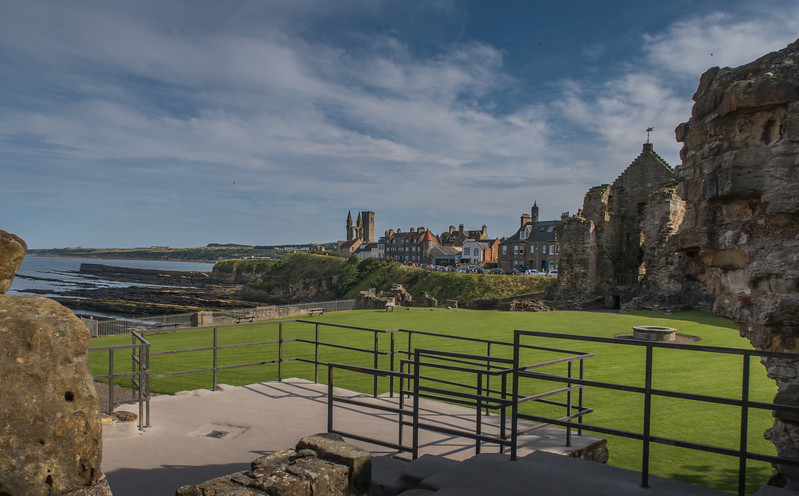 St Andrews Castle - St Andrews - Fife - Scotland (August 2019)