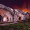Reverse Arches,Fort Pickens, Gulf Islands National Park