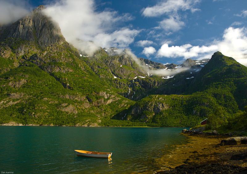 Sløverfjorden, Higravfjorden Loften, Norway