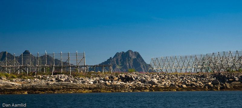 Svolvær, drying rack for stockfish