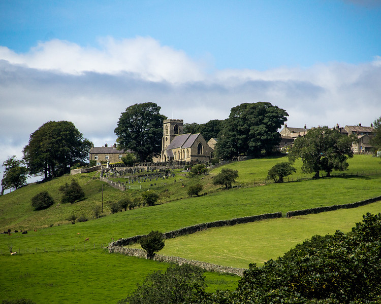 Middlesmoor from Lofthouse in Nidderdale