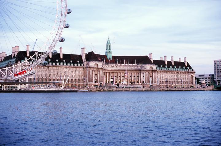 London County Hall & London Eye