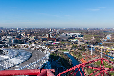 Arcelormittal Orbit - London Skyline
