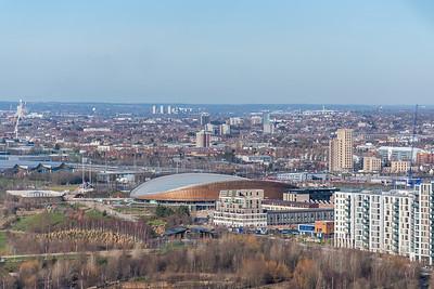 Arcelormittal Orbit - London Skyline