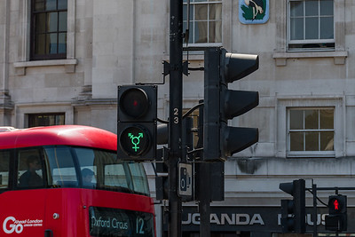 Pride Traffic Lights - Trafalgar Square