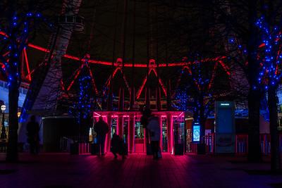 London Eye by Night - Glow