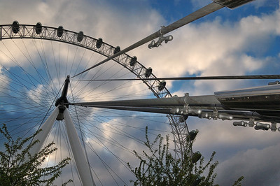 The London Eye from a different perspective.