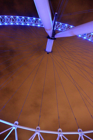 Another 'different' view of the London Eye.