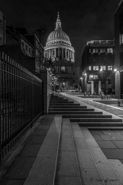 Steps at St Paul's Cathedral