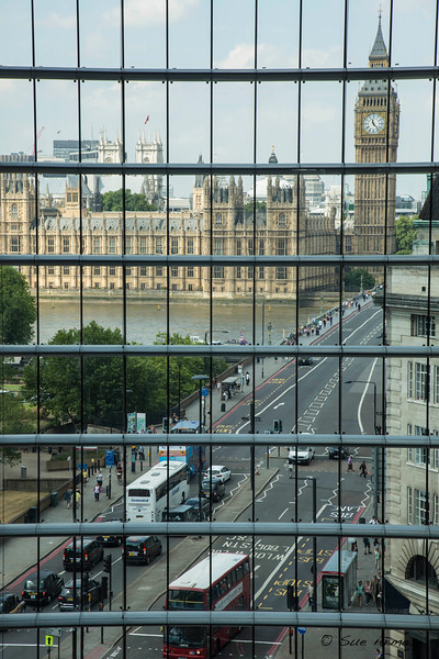 Window on London