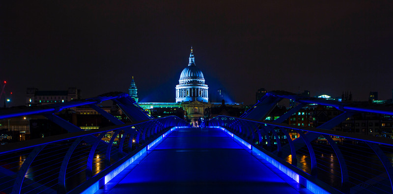 St Paul's Blue Bridge