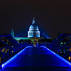 St Paul's Blue Bridge