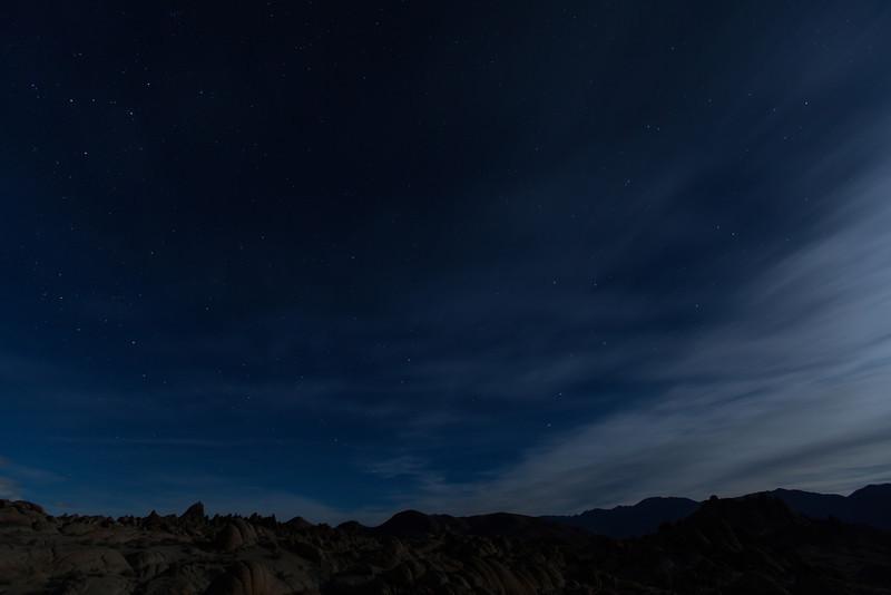 Big Dipper,  Alabama Hills,  Lone Pine, CA.