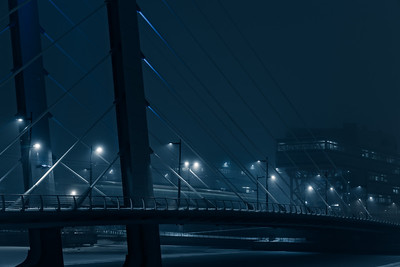 Crusell bridge by night