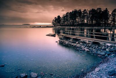 Calm evening