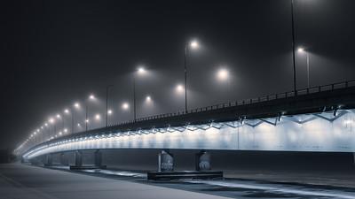 Evening mist II