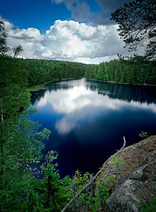 Hawk pond│Noux national park│Finland