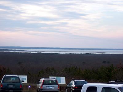 Scenic overlook on the way to Montauk Point.