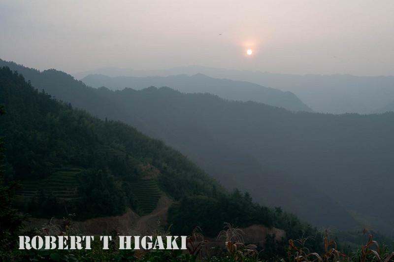 longsheng- early morning shot