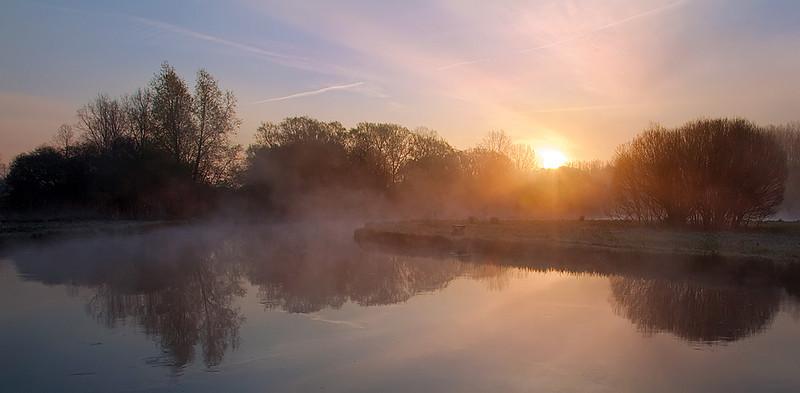 Misty Test Dawn
