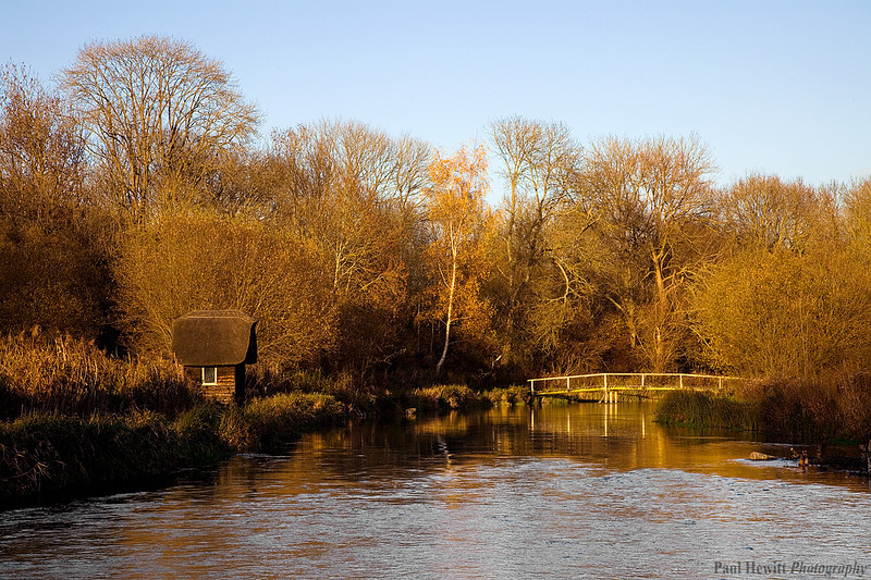 Fishing Hut on the River Test, Hampshire