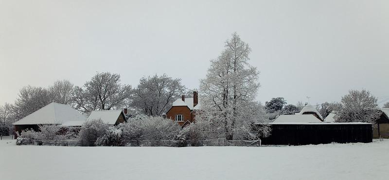 Back of Charity Farmhouse, Longstock
