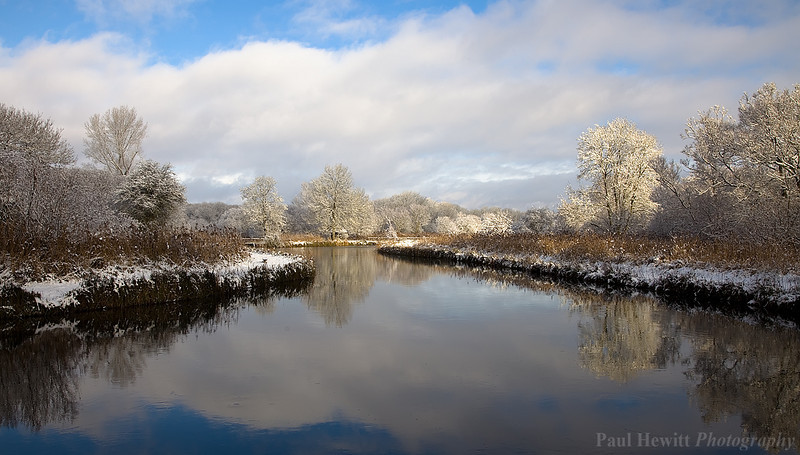 Winter on the River Test