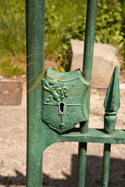 Gate Lock Detail, birkenhead Park