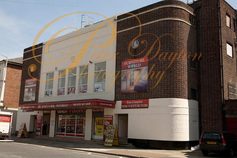 Old cinema, Park Road