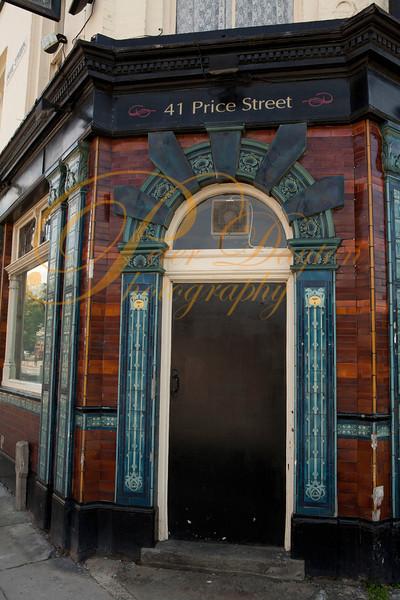 Door at the Stork Hotel, Birkenhead